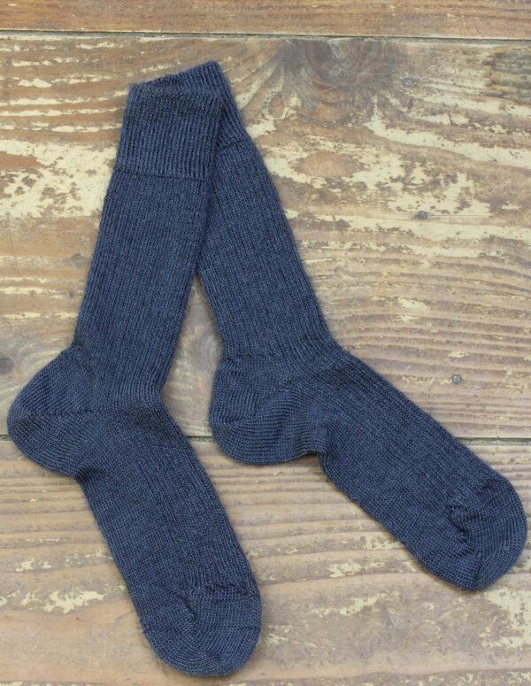 Chaussettes fines Mohair - Ardoise 2 - Une Ferme à la Bassette