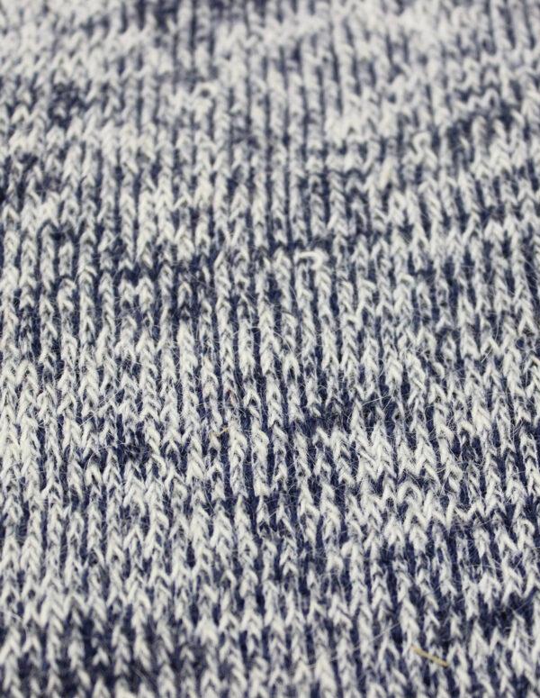Chaussettes Rando Chiné Bleu 3 - Une Ferme à la Bassette