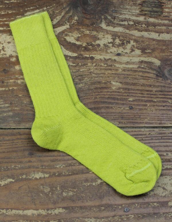Chaussettes fines Mohair - Absinthe 1 - Une Ferme à la Bassette