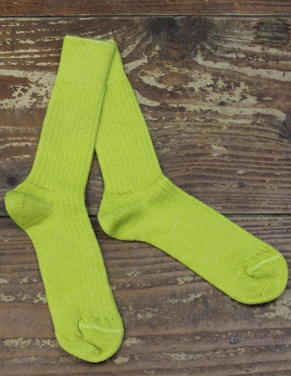 Chaussettes fines Mohair - Absinthe 2 - Une Ferme à la Bassette
