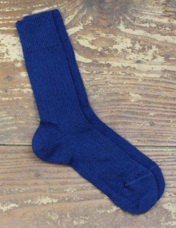Chaussettes fines Mohair - Canard 1 - Une Ferme à la Bassette