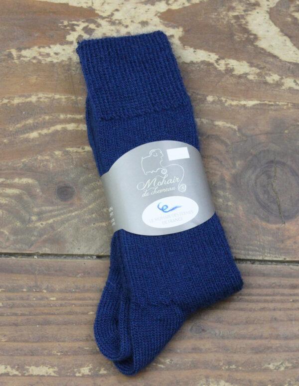 Chaussettes fines Mohair - Canard 3 - Une Ferme à la Bassette