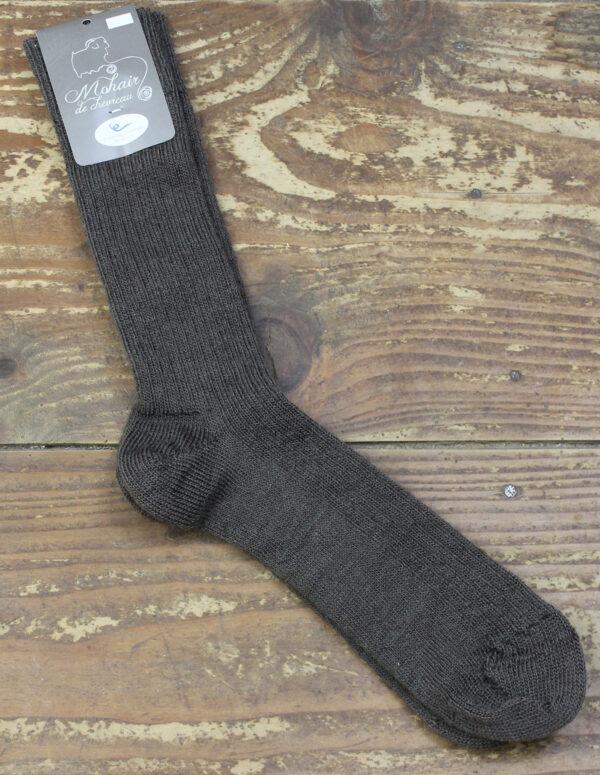 Chaussettes fines Mohair - Marmotte 1 - Une Ferme à la Bassette
