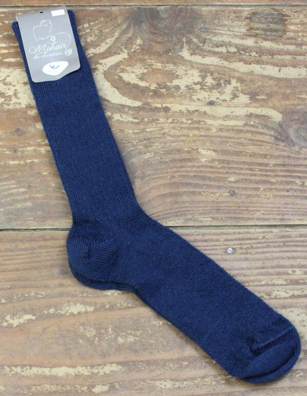 Chaussettes fines Mohair - Saphir 1 - Une Ferme à la Bassette