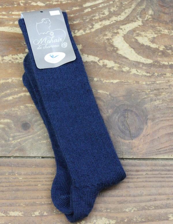 Chaussettes fines Mohair - Saphir 3 - Une Ferme à la Bassette