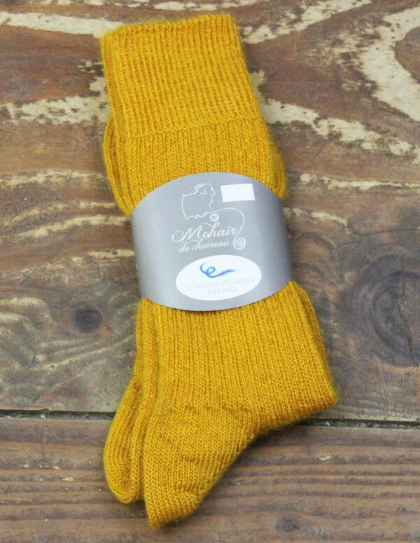 Chaussettes fines Mohair - Soleil 3 - Une Ferme à la Bassette
