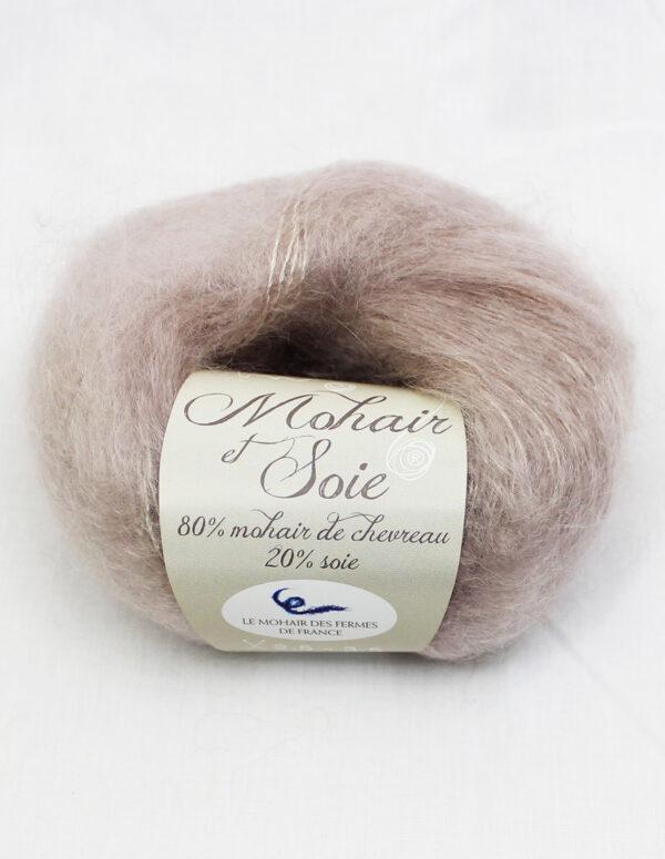 Pelote Mohair et Soie - GREIGE 1 - Une Ferme à la Bassette