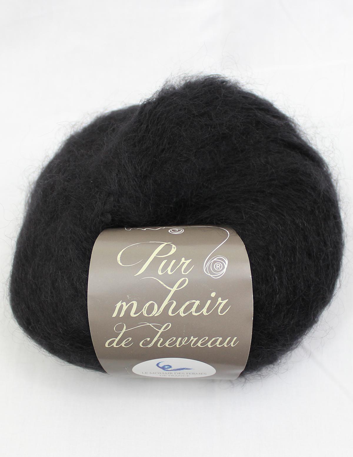 Pelote-Pur-Mohair-NOIR-1-Une-Ferme-a-la-Bassette