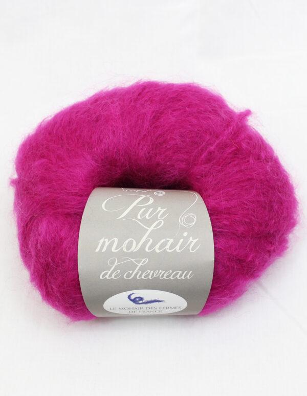 Pelote Pur Mohair - ROSE THYRIEN 1 - Une Ferme à la Bassette