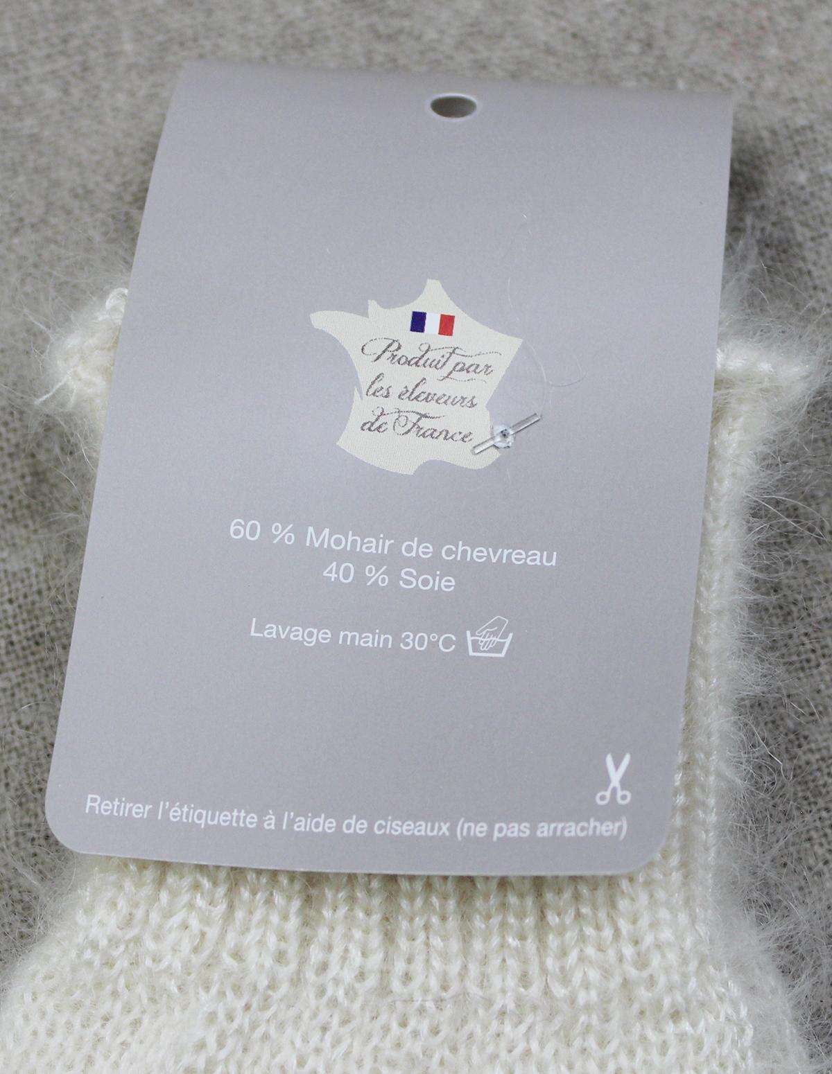 Mitaine-ECRU - Une Ferme à la Bassette