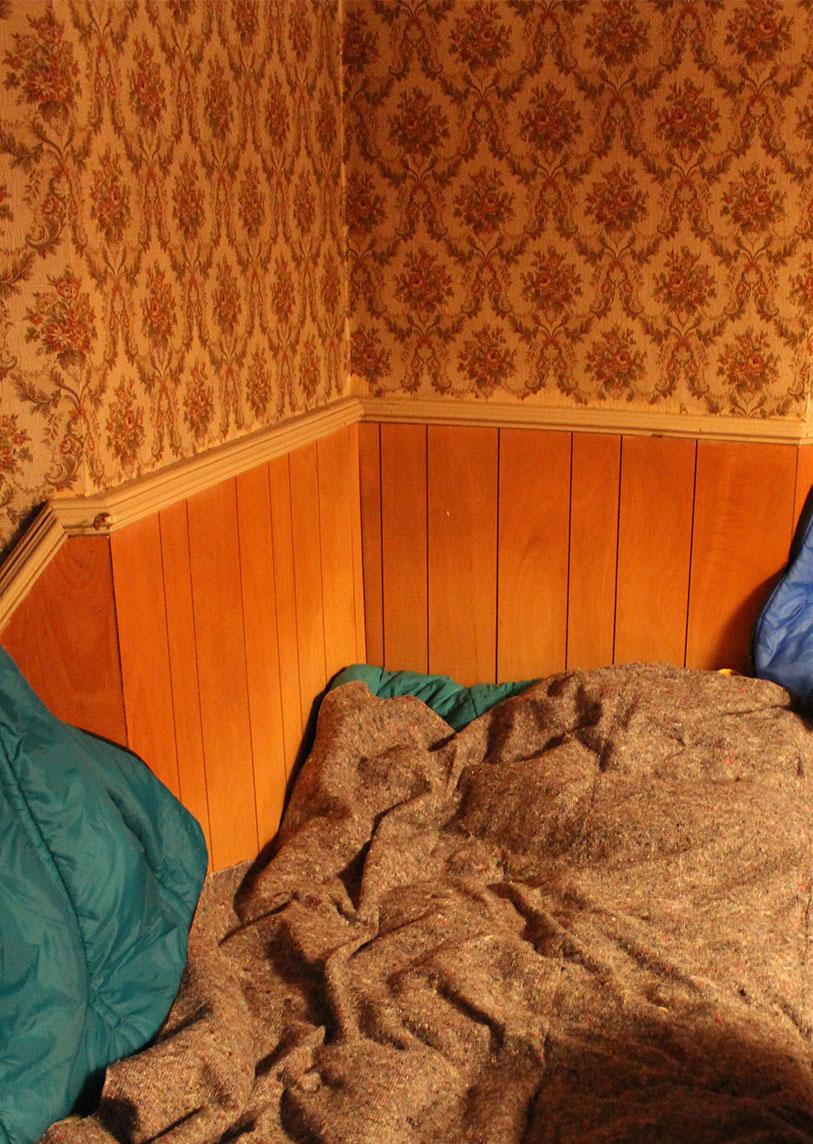 Une arrivée plus ou moins chaotique - Camping intérieur 2 - Une Ferme à la Bassette